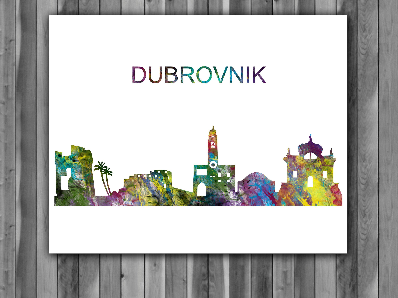"CROATIA DUBROVNIK NEW A1 CANVAS PRINT POSTER FRAMED 33.1/""x23.4/"""