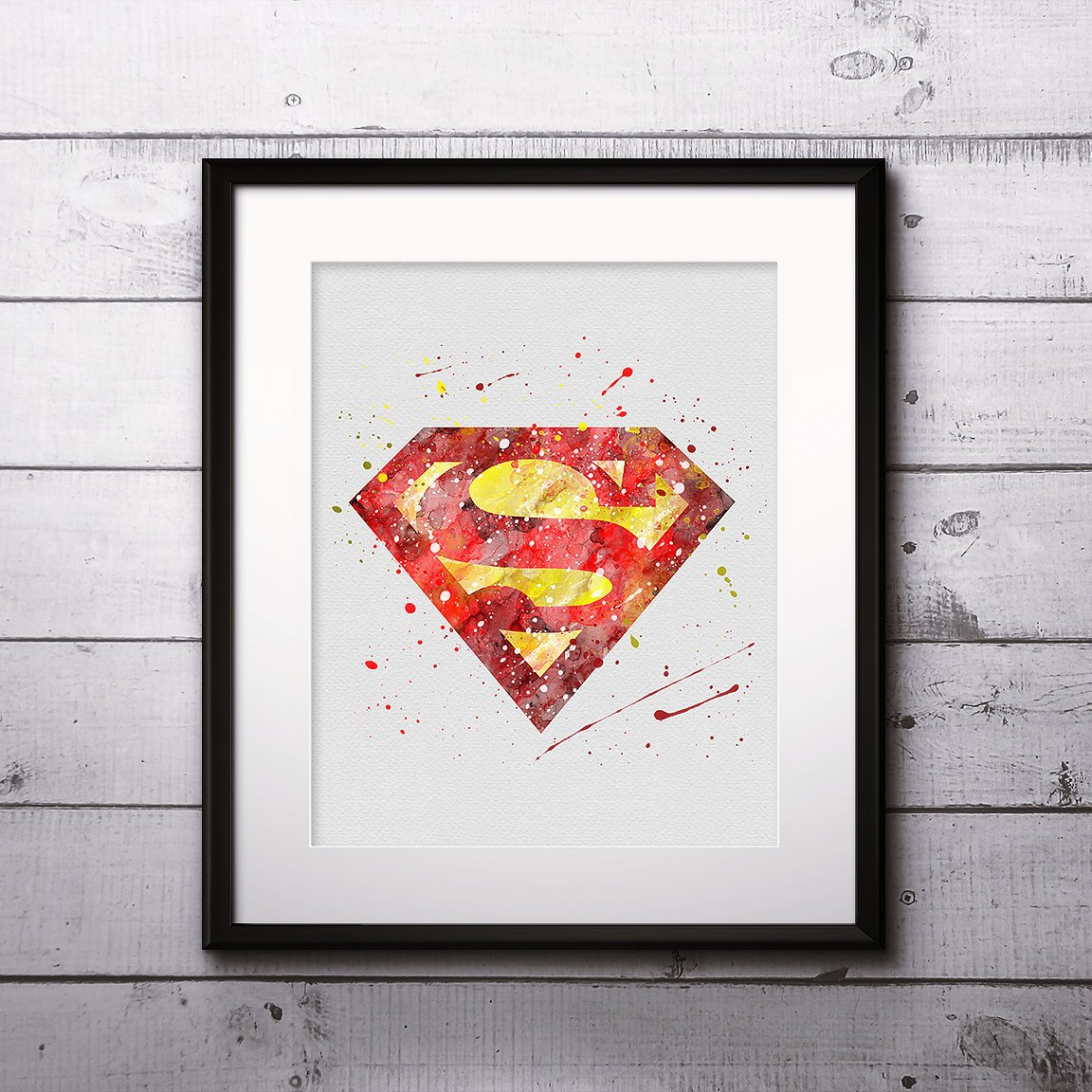 DC COMICS SUPERHERO SUPERMAN POSTER PICTURE PRINT Sizes A5 to A0 **NEW**